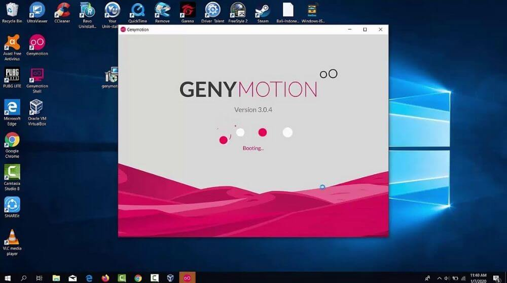 Genymotion - phần mềm dành cho những nhà phát triển phần mềm
