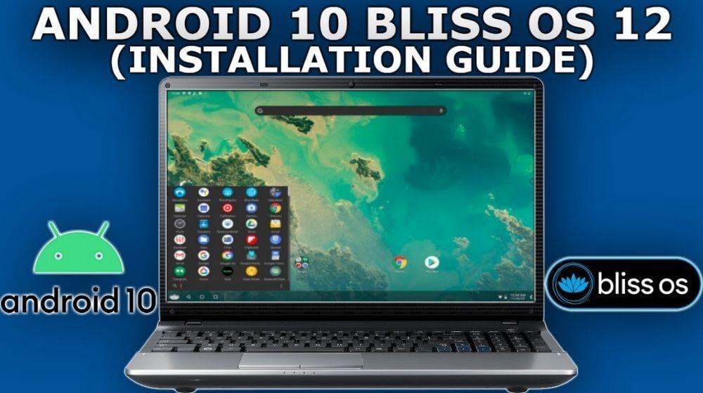 Phần mềm giả lập Bliss OS