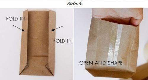 Cách làm túi quà đơn giản nhất bằng giấy kraft
