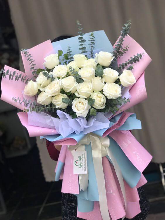 Hình hoa chúc mừng sinh nhật cho người yêu xinh đẹp