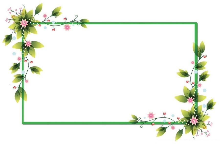 Các khung hình để ghép ảnh có màu sắc đơn giản tự nhiên
