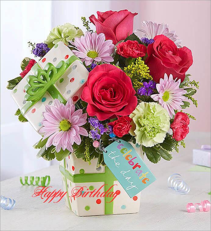 Những hình ảnh hoa chúc mừng sinh nhật mẹ