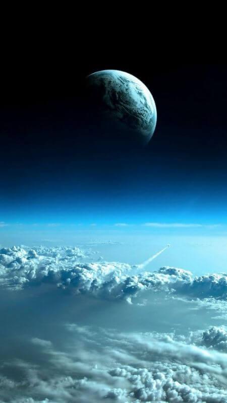Những hình nền điện thoại đẹp nhất của ánh trăng