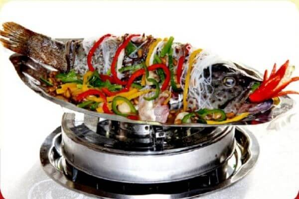 Cá hấp bún tàu ăn là ghiền